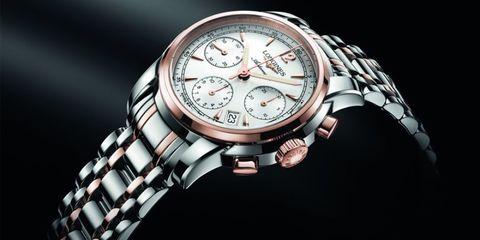 Analog watch, Product, Watch, Glass, Watch accessory, Fashion accessory, Font, Metal, Black, Still life photography,