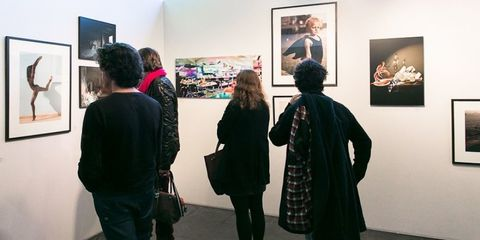 Human body, Exhibition, Style, Art gallery, Coat, Art exhibition, Picture frame, Museum, Art, Fashion,