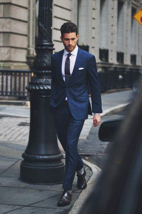 Voorkeur Waarom je een donkerblauw pak moet hebben @AG39