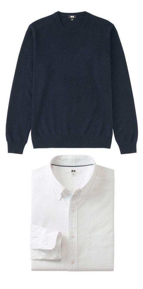Clothing, Product, Collar, Sleeve, Dress shirt, Textile, White, Fashion, Neck, Black,