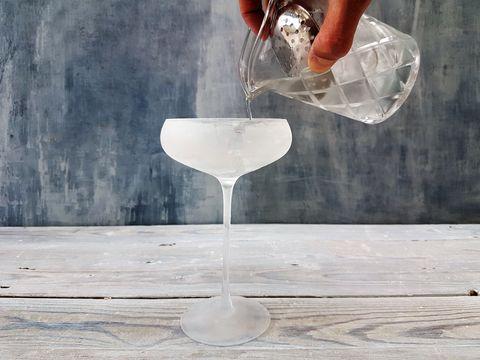 Drink, Glass, Martini glass, Stemware, Classic cocktail, Martini, Drinkware, Wine glass, Tableware, Champagne cocktail,