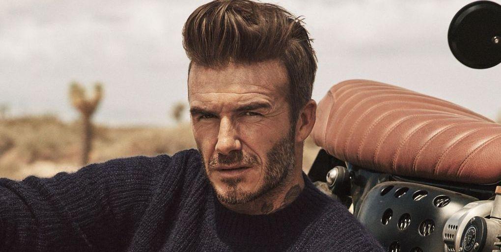 David Beckham knitwear