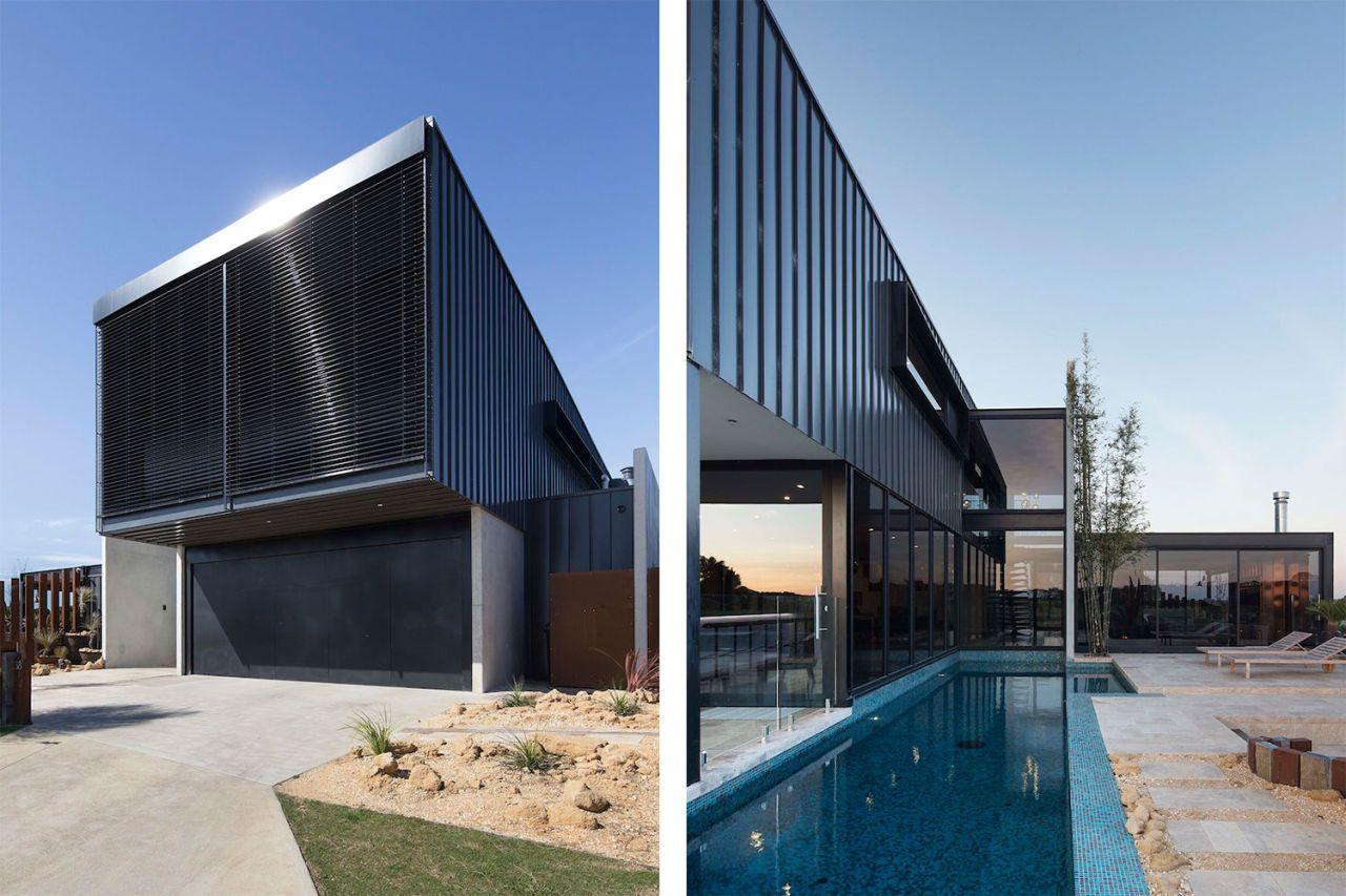 Dit huis in de australische woestijn is een paleis met een bizarre