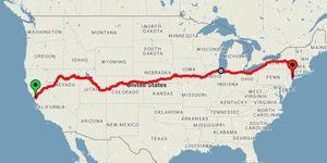 trein amerika