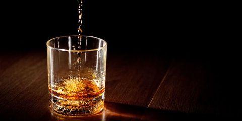 Liquid, Fluid, Drinkware, Glass, Drink, Barware, Alcoholic beverage, Tableware, Alcohol, Amber,