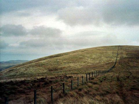 <p>Dit hekje is een onderdeel van de grens tussen de twee landen in het Verenigd Koninkrijk. </p>