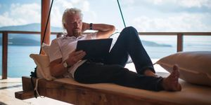 Richard Branson, Necker Island