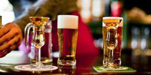 kopstoot, jenever, bier