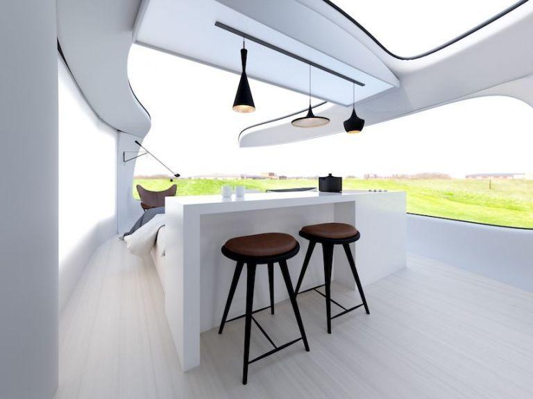 Deze Futuristische MINI Cooper Camper Is Episch