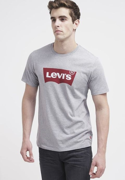 T-shirt, Clothing, White, Neck, Sleeve, Cool, Shoulder, Active shirt, Product, Grey,