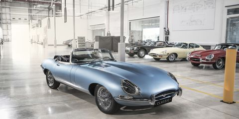 Land vehicle, Vehicle, Motor vehicle, Automotive design, Car, Jaguar e-type, Classic, Antique car, Classic car, Sports car,