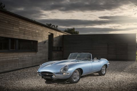 Land vehicle, Vehicle, Car, Automotive design, Classic car, Sports car, Convertible, Coupé, Jaguar e-type, Classic,