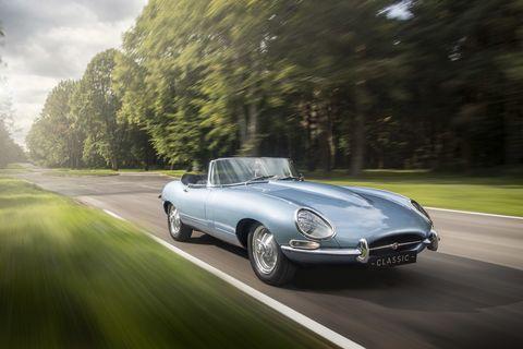 Land vehicle, Vehicle, Car, Coupé, Automotive design, Jaguar e-type, Classic car, Sedan, Sports car, Convertible,