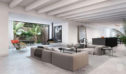 hou je van een minimalistisch interieur of juist industrieel met deze loft in amsterdam kan je nog alle kanten op een verbouwing en het interieur zit