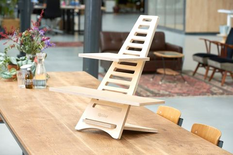 Furniture, Chair, Table, Wood, Folding chair, Architecture, Plywood, Interior design, Scale model,
