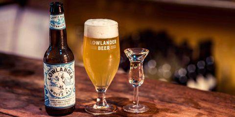 Kopstoot, jenever, Lowlander beer