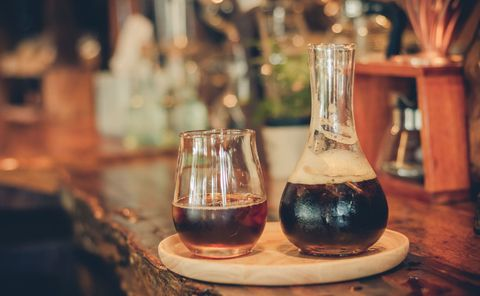 Drink, Glass, Alcoholic beverage, Barware, Distilled beverage, Alcohol, Wine glass, Stemware, Glass bottle, Snifter,