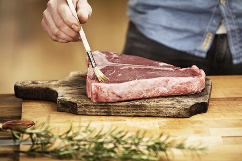 Food, Animal fat, Meat carving, Dish, Red meat, Meat, Cuisine, Veal, Kobe beef, Rump cover,