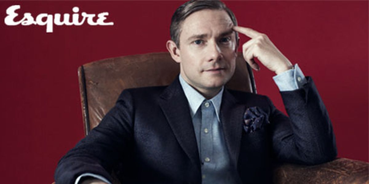 Martin Freeman Always Looks Sharp