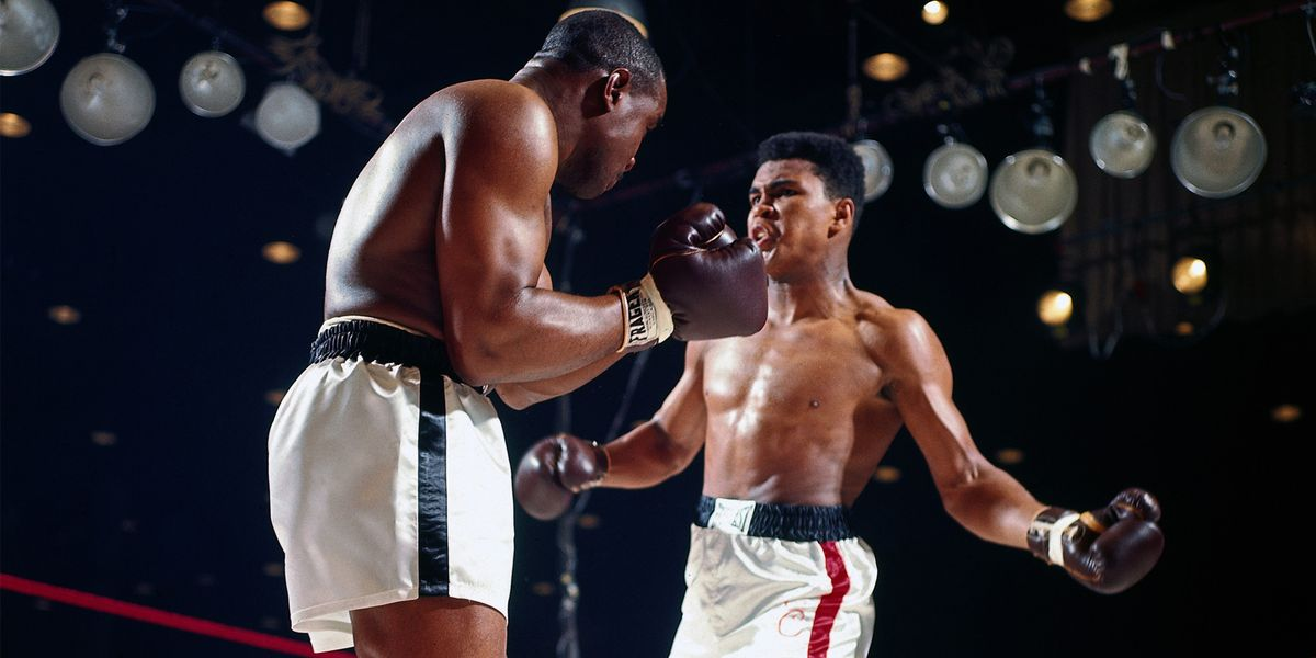 cassius clay vs sonny liston  the birth of a champion