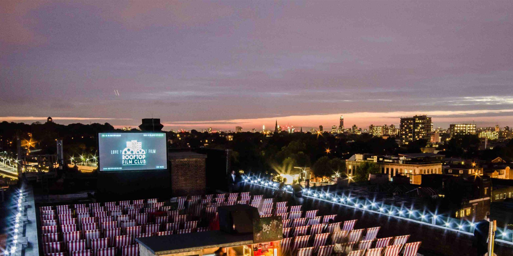 Londons best outdoor cinemas