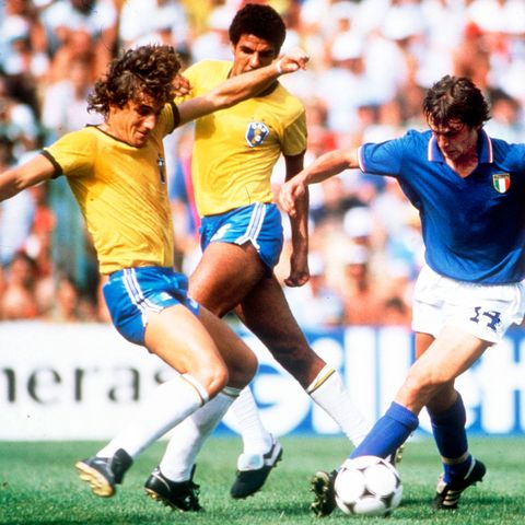 c227199f1df The Brazil team that travelled to Spain for the 1982 World Cup was the  Avengers Assemble of football teams: arguably the greatest collection of  individual ...