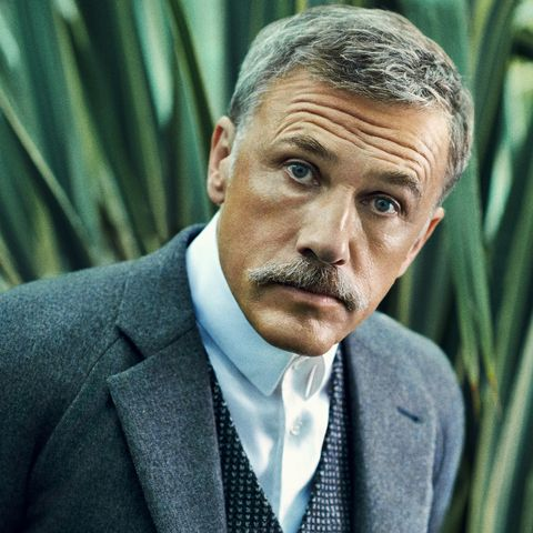 Christoph-Waltz-Brown-grey-Textured-Mixed-Cashmere-Blazer-43