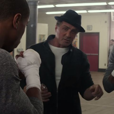 Rocky Balboa Leaves The Kid To Do The Fighting In Second
