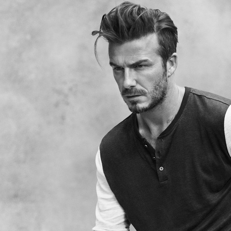 How To Get David Beckhams New Haircut - Quiff hairstyle david beckham
