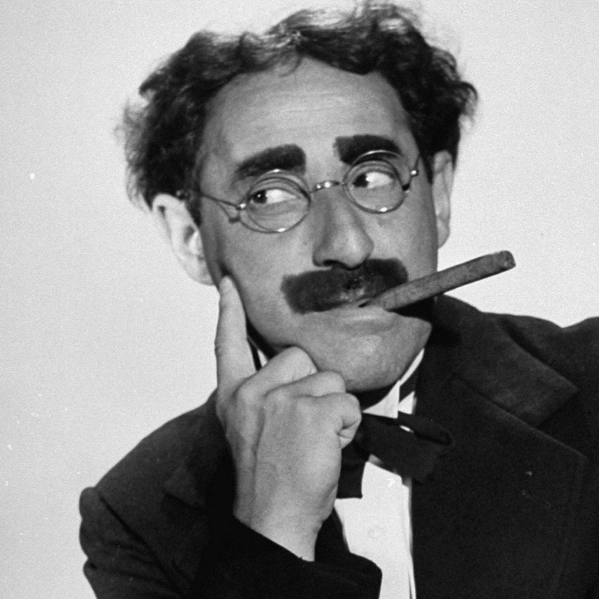 Groucho Marx animated