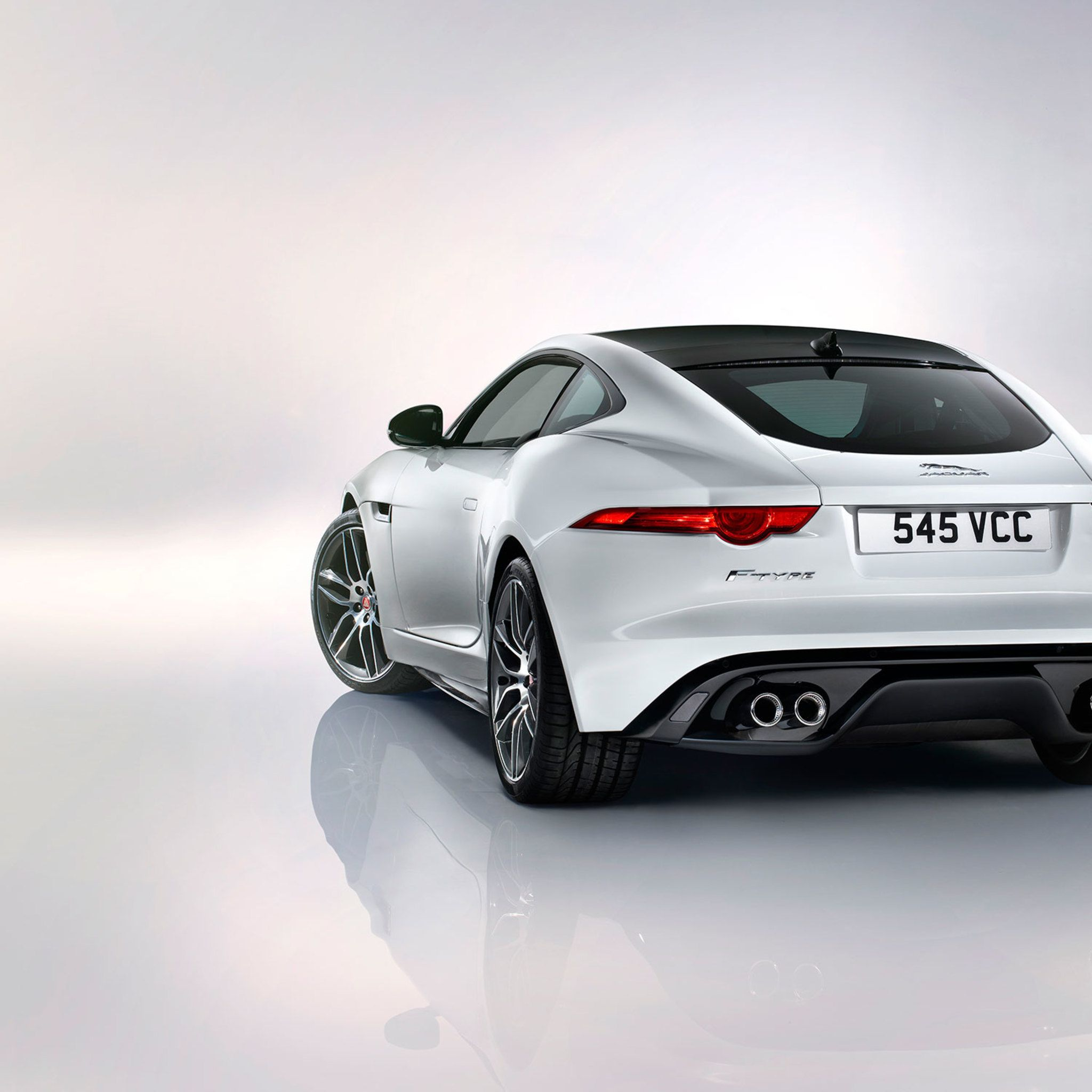Jaguar F Type Coupe Rear 43