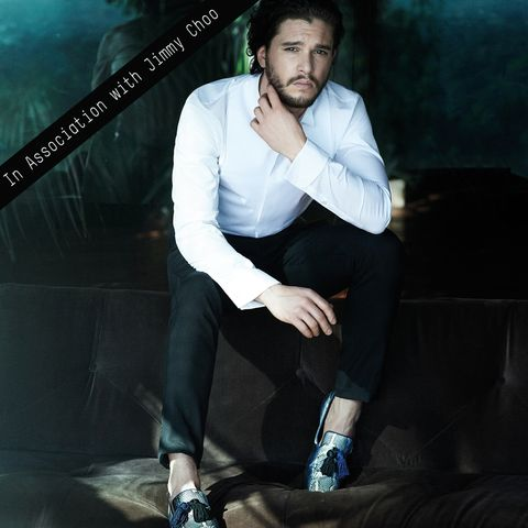 fe577d76da05 Kit Harington Rocks Jimmy Choo s A W 14 Campaign