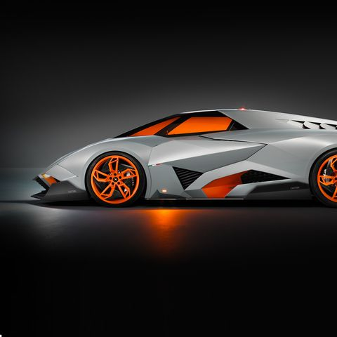 Lamborghini Egoista The Car That S Inspired By An Apache Helicopter