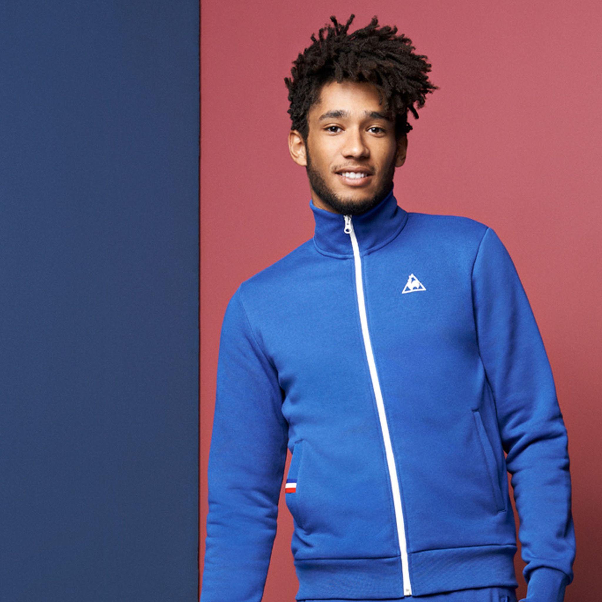 le coq sportif 15 de france jacket