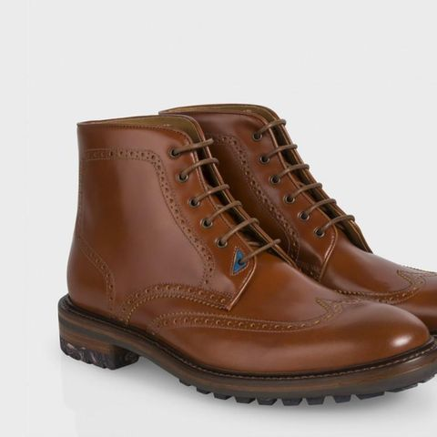 Paul-Smith-Tan-Leather-Cale-Brogue-Boots-43