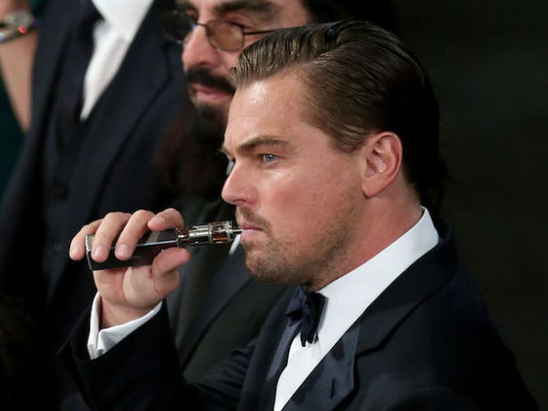 Bad News For Leonardo DiCaprio Johnny Depp And That Strange Bloke In Your Office Who Hangs Out At Vaping Conventions The Smoking Cure Du Jour May Fact
