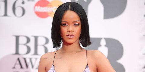 Rihanna Brits 2016