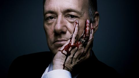 """<p>The original Netflix binge-watch, <em>House of Cards</em> <a href=""""http://www.esquire.co.uk/culture/tv/news/a9431/heres-a-new-trailer-for-house-of-cards-season-4/"""" target=""""_blank"""">returns</a> with Kevin Spacey's charismatic anti-hero,  <a href=""""http://www.esquire.co.uk/culture/film/news/a5539/career-advice-from-frank-underwood/"""" target=""""_blank"""">Frank Underwood</a> vying to maintain a slippery grasp on the biggest job in politics.</p><p>Expect more backstabbing, intrigue and faustian pacts. And tense banquets, lots of tense banquets.</p><p><em>House of Cards season 4 is on Netflix from 4 March </em></p>"""