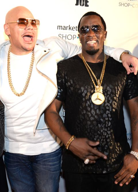 Fat Joe and P Diddy