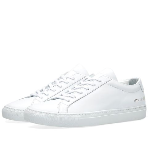 Common Projects Achilles Low in white