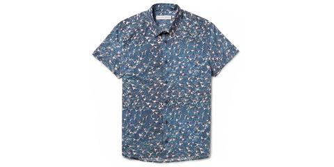 Orlebar Brown Pelham Slim-Fit Printed Cotton-Poplin Shirt