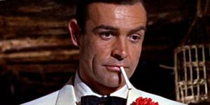 Sean Connery white tux