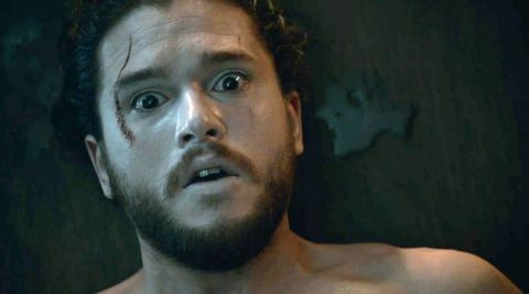 Jon Snow wakes up