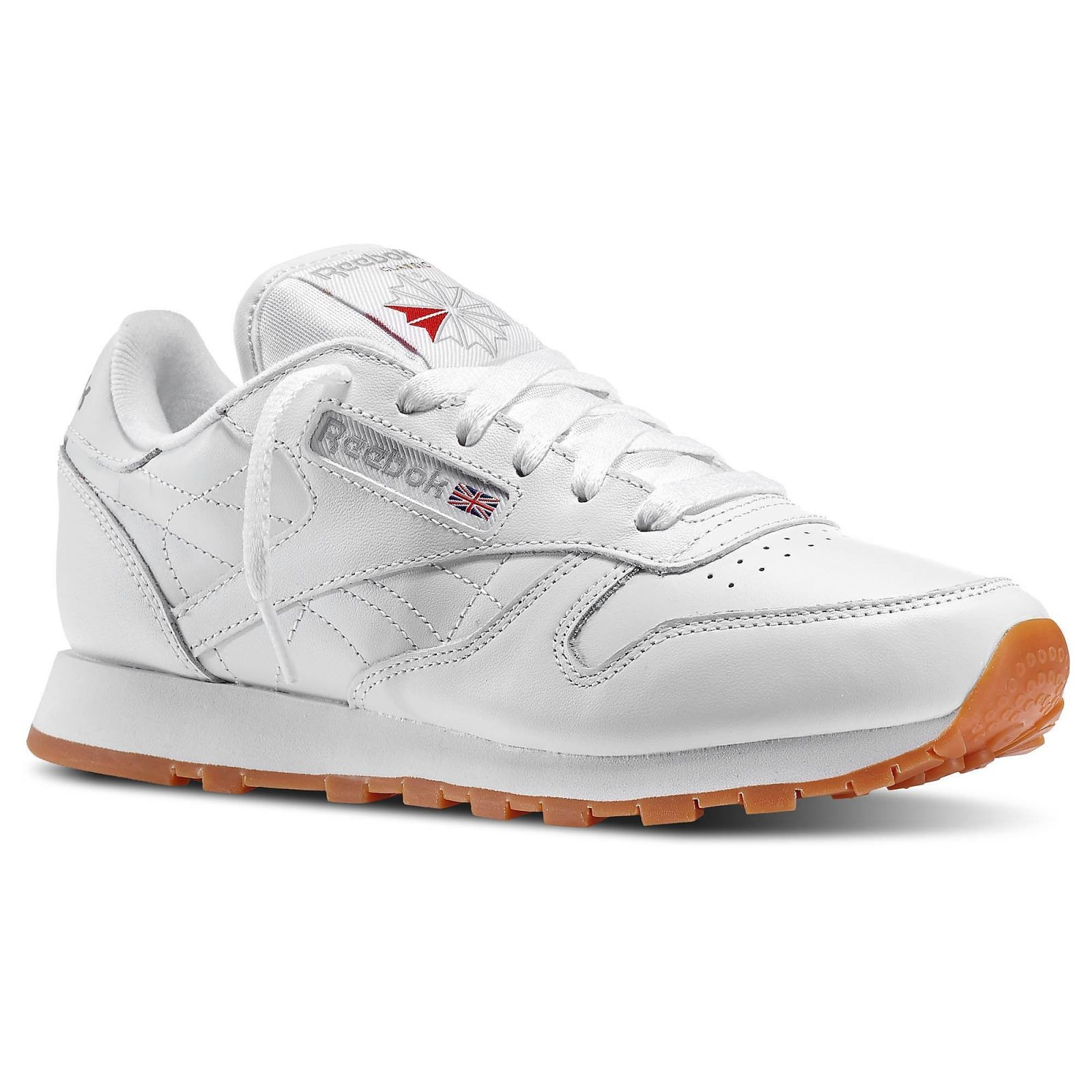 Classic Leather Trainers by Reebok