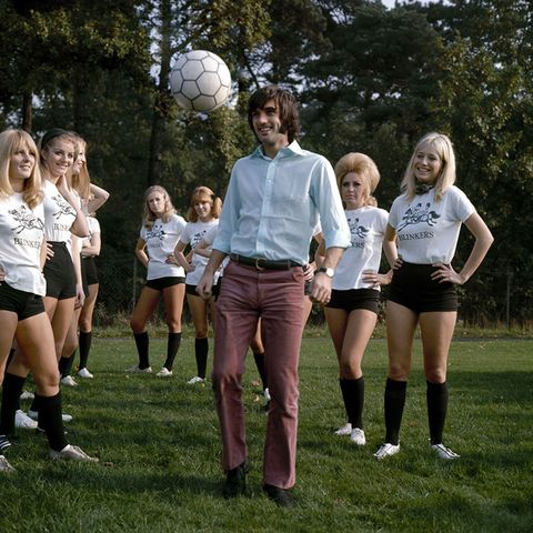 How George Best Became The World's First Playboy Footballer