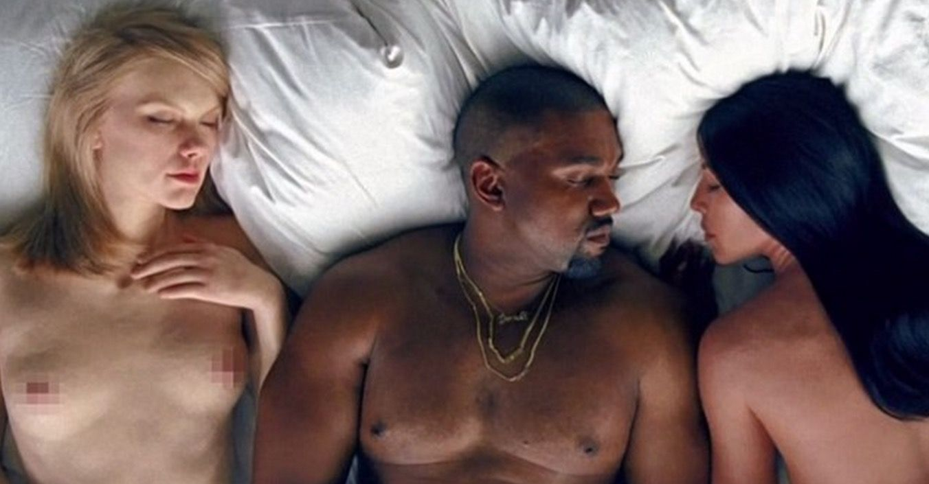 Taylor Swift Is Furious After Appearing Naked In New Kanye West Video