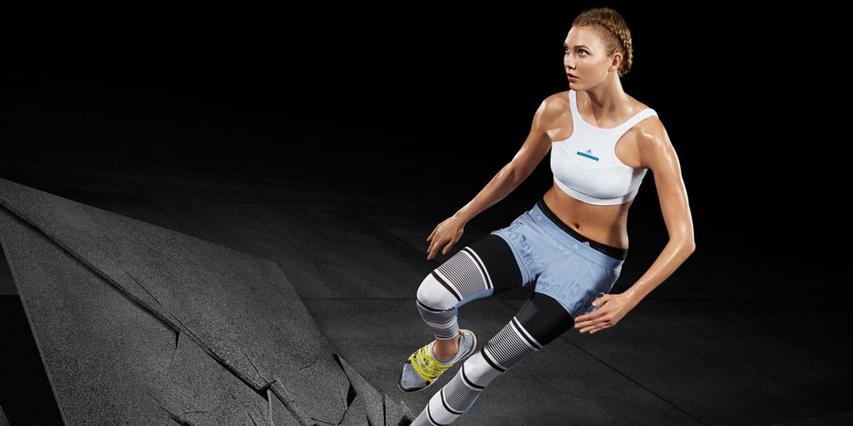 Karlie Kloss Is Earth-Shattering As The New Face Of adidas by Stella McCartney