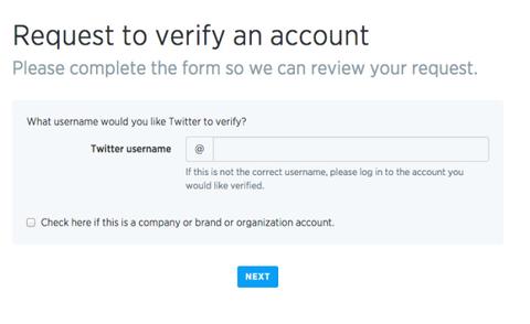 Twitter verified