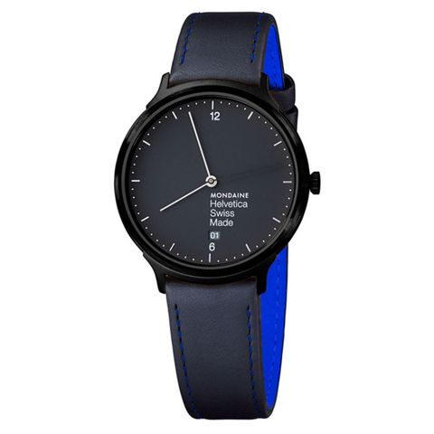 Mondaine Helvetica No 1 New York Edition Blue