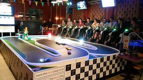 Games, Hall, Display device, Indoor games and sports, Stage, Television,